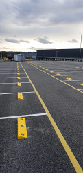 VISUSAFE Carpark Car Wheel Stops