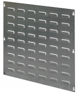 Galvanized Louvered Back Panels