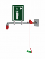 Indoor Wall, Over-door or Ceiling Mounted Emergency Safety Shower