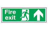 Fire Exit - Up Sign