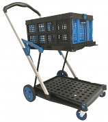 Clever Folding Trolley with Folding Box