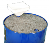 Oil & Fuel Absorbent Drum Topper Pad Pack of 5