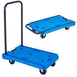Plastic Folding Platform Trolleys