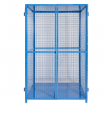 Security Cage with Solid Base & Roof