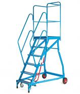 Fort Heavy Duty 'Elite' GS Mobile Warehouse Steps - Steel Treads