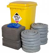 General Purpose Spill Kit in Wheelie Bin 360Litres