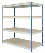 Anco Heavy Duty Rivet Racking 4 Shelves