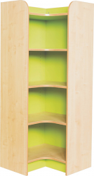 KubbyClass Library Internal Corner Bookcases