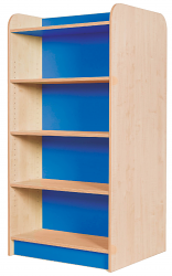 KubbyClass Double Sided Library Bookcases
