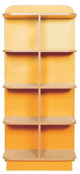 KubbyClass D-End Cap Library End Bookcases