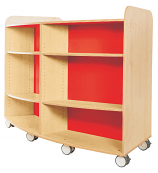 KubbyClass Curved Library Bookcase 1250mm