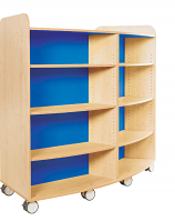 KubbyClass Curved Library Bookcase 1500mm