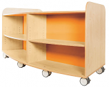 KubbyClass Curved Library Bookcase 750mm
