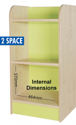 KubbyClass Single Storage Cubes 1000mm High - 2 Space Cube