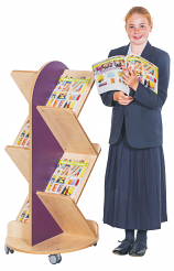 KubbyClass Book Staircase