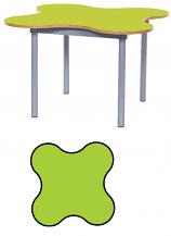 KubbyClass 4 Leaf Petal Classroom Table