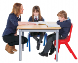 KubbyClass Square Classroom Table