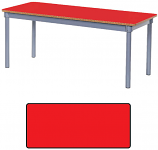 KubbyClass Rectangular Classroom Tables 1400 x 600mm