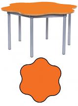 KubbyClass 6 Leaf Petal Classroom Table
