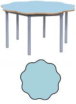 KubbyClass 9 Leaf Petal Classroom Table