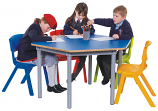 KubbyClass Hexagon Classroom Tables