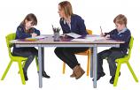 KubbyClass Trapezoidal Classroom Tables