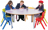 KubbyClass Circular Classroom Table
