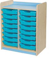 KubbyClass Double Bay Tray Storage Units