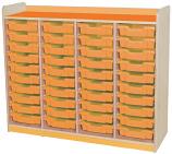 KubbyClass Quad Bay Tray Storage Units