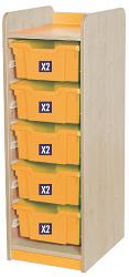 KubbyClass Single Bay Combination Tray Storage Units
