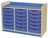 KubbyClass Triple Bay Tray Storage Units