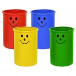 Open Top School Litter Bins