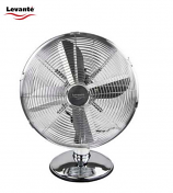 Levante 12 Inch Oscillating Metal Desk Fan
