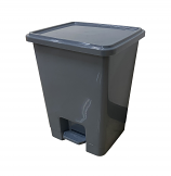 15Litre Pedal Bins - Pack of 3