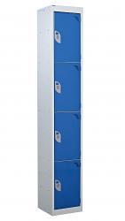 Standard Lockers - 4 Tier (4 Doors)