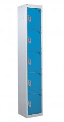 Standard Lockers - 5 Tier (5 Doors)