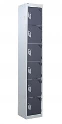 Standard Lockers - 6 Tier (6 Doors)