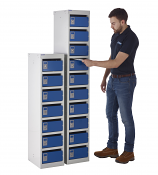 Post Lockers - 10 Boxes - 25mm Post Boxes