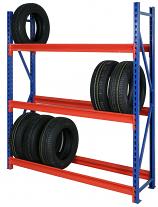 Anco Heavy Duty Tyre Racking 1830mm High - 3 Levels