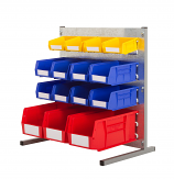 Anco Plastic Bins Louvre Panel Bench Kits