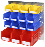 Anco Plastic Bins Louvre Panel Kits