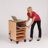 Secure Multi-media Projector Cabinet