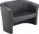 Encounter Sofa Tub Seat- Leather Look