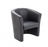 Encounter Armchair Tub Seat - Leather Look