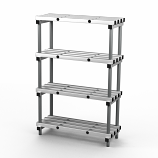 Aluminium Shelving - 1200mm Long