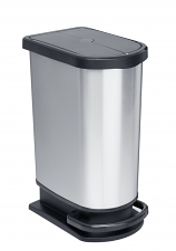 Pedal Bin with Butterfly Lid - 50 Litre