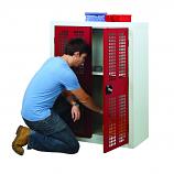 Perforated Door Security Cupboards