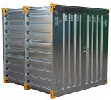 Galvanised Secure Chemical Storage Unit