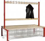 School Island Seating - Double Sided Height 1370H x 760D mm