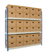 Anco Archive Shelving - 1830mm Wide